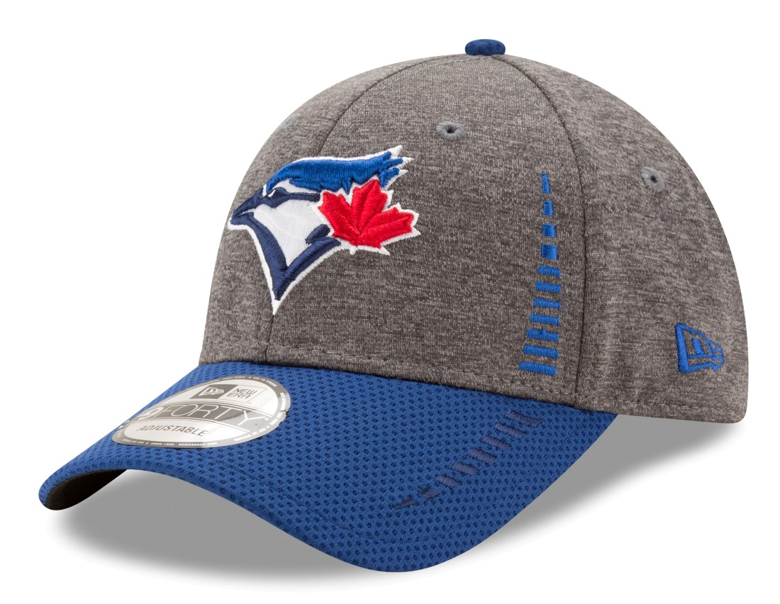 "Toronto Blue Jays New Era 9Forty MLB ""Speed"" Performance Adjustable Hat - 2 Tone"