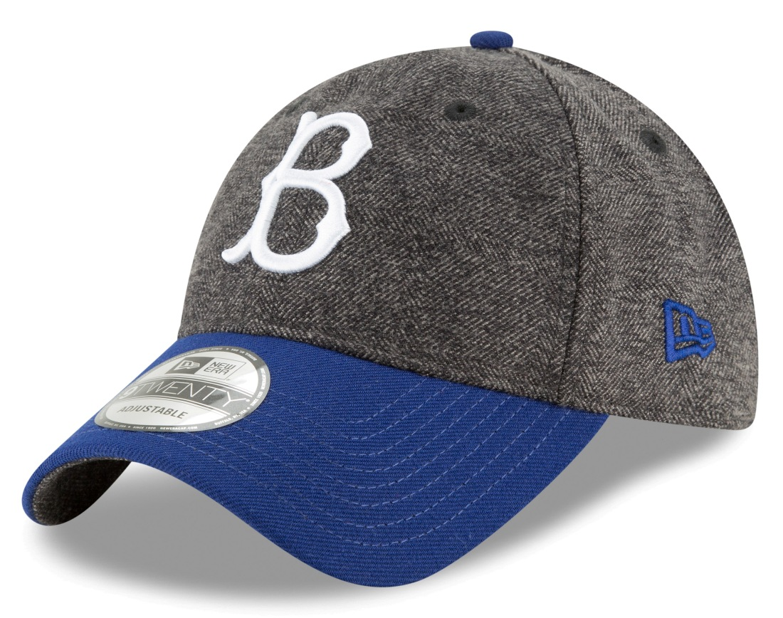"Brooklyn Dodgers New Era MLB 9Twenty ""Cooperstown Tweed Turn"" Adjustable Hat"