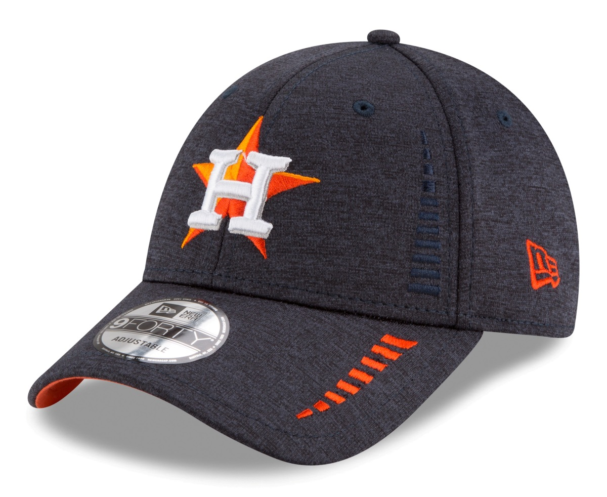 "Houston Astros New Era 9Forty MLB ""Shadow Speed"" Performance Adjustable Hat"