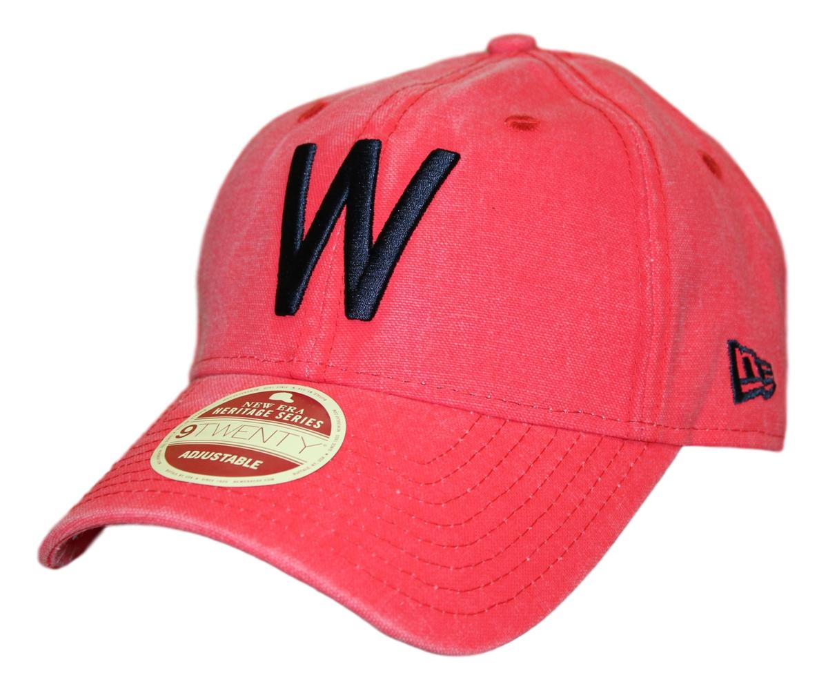 Washington Senators New Era MLB 9Twenty Cooperstown Classic Wash Adjustable Hat