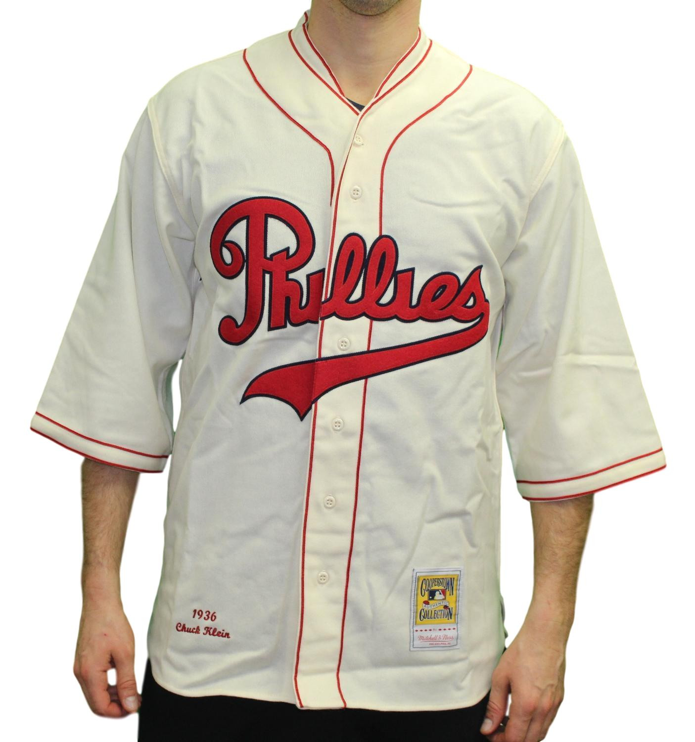 Chuck Klein Philadelphia Phillies Mitchell & Ness Authentic 1936 Jersey