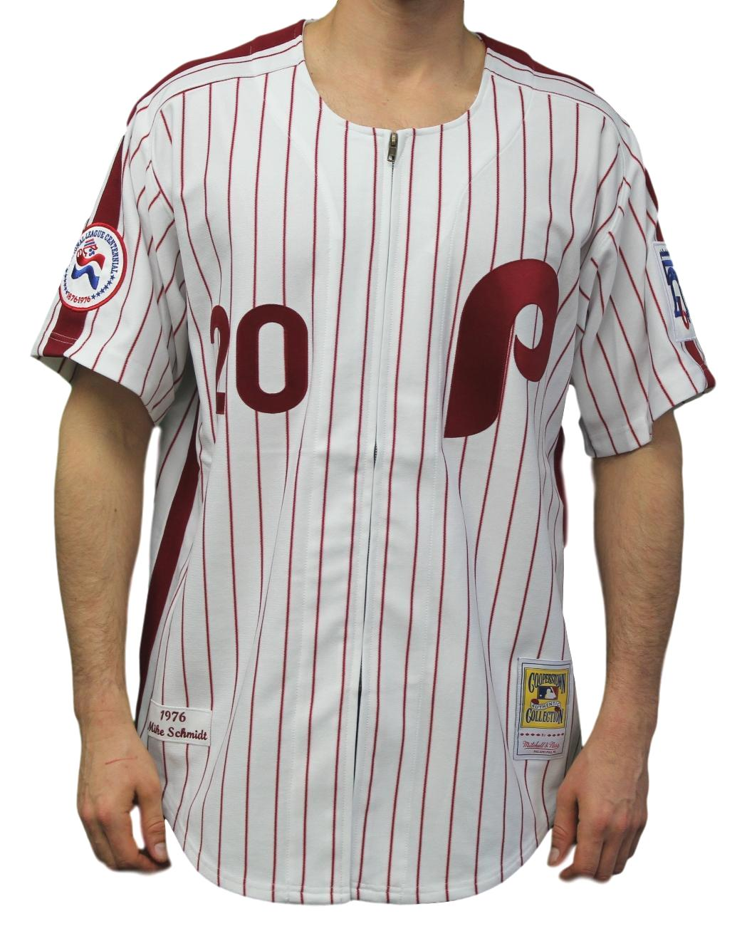 Mike Schmidt Philadelphia Phillies Mitchell & Ness Authentic 1976 Home Jersey