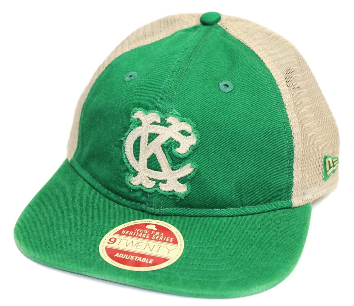 "Kansas City Athletics New Era 9Twenty Cooperstown ""Frayed Twill 2"" Mesh Back Hat"