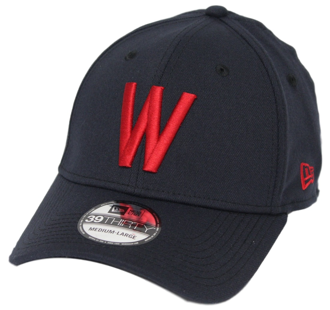 "Washington Senators New Era MLB 39THIRTY Cooperstown ""Classic"" Flex Fit Navy Hat"