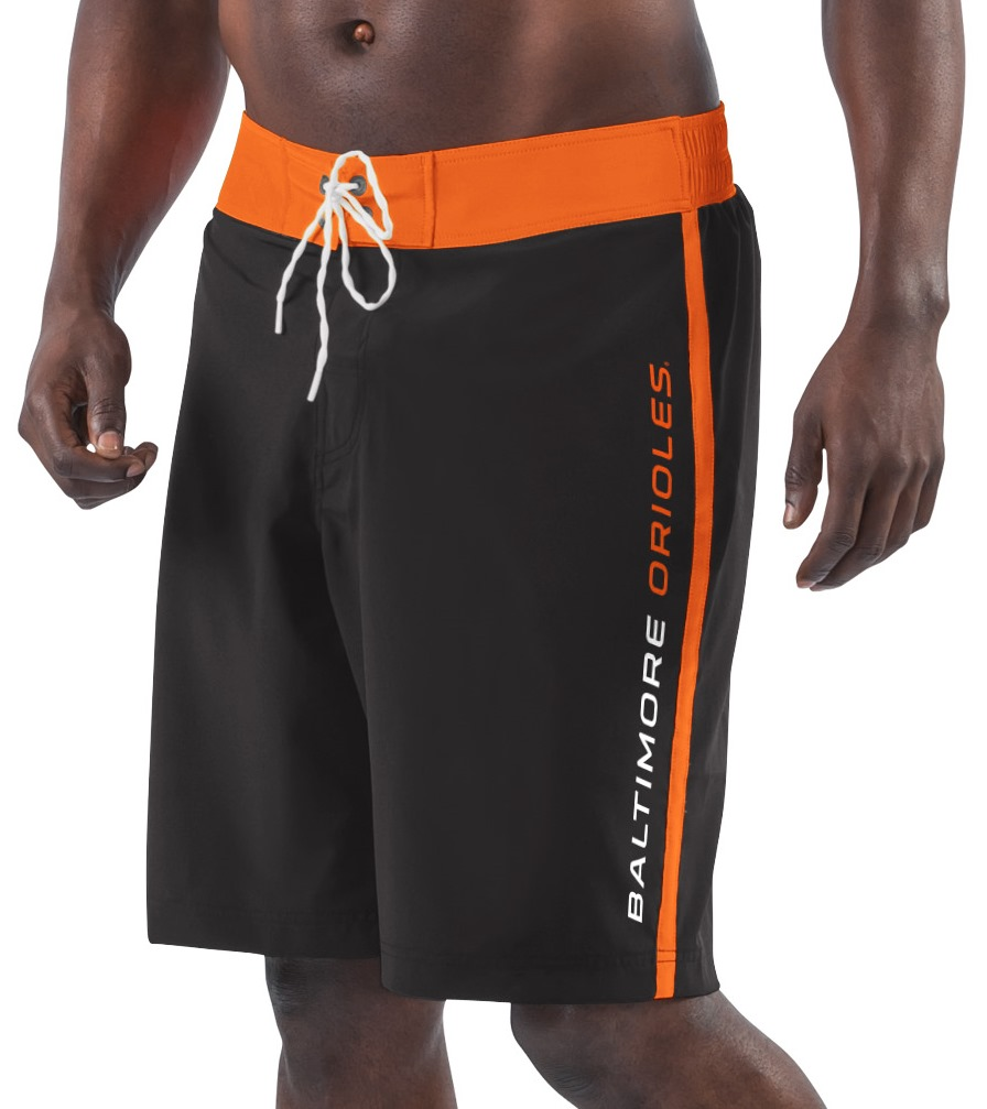 "Baltimore Orioles MLB G-III ""Endurance"" Men's Boardshorts Swim Trunks"