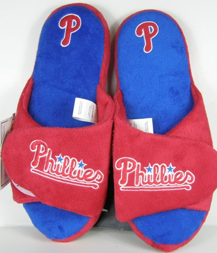 Philadelphia Phillies 2011 Open Toe Two Tone Hard Sole Slippers