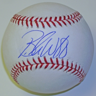 Brandon Webb Signed Major League Baseball