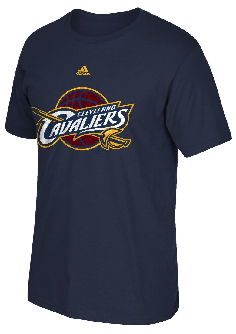 "Cleveland Cavaliers Adidas NBA ""Cut The Net"" Premium Print S/S Men's T-Shirt"