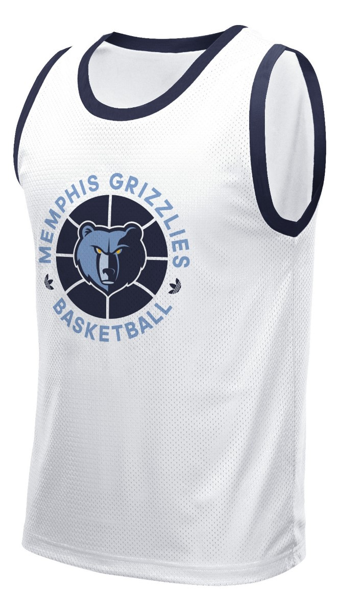 "Memphis Grizzlies Adidas NBA ""Originals"" Men's Mesh Tank Top T-Shirt"