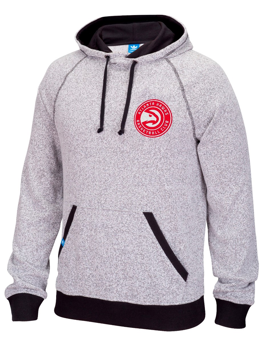 "Atlanta Hawks Adidas NBA ""Originals"" Men's Pullover Hooded Sweatshirt"