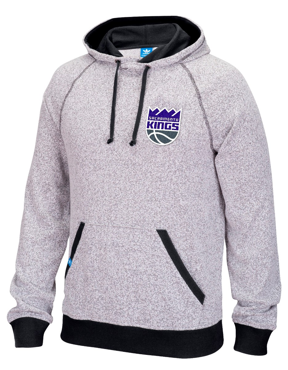 "Sacramento Kings Adidas NBA ""Originals"" Men's Pullover Hooded Sweatshirt"