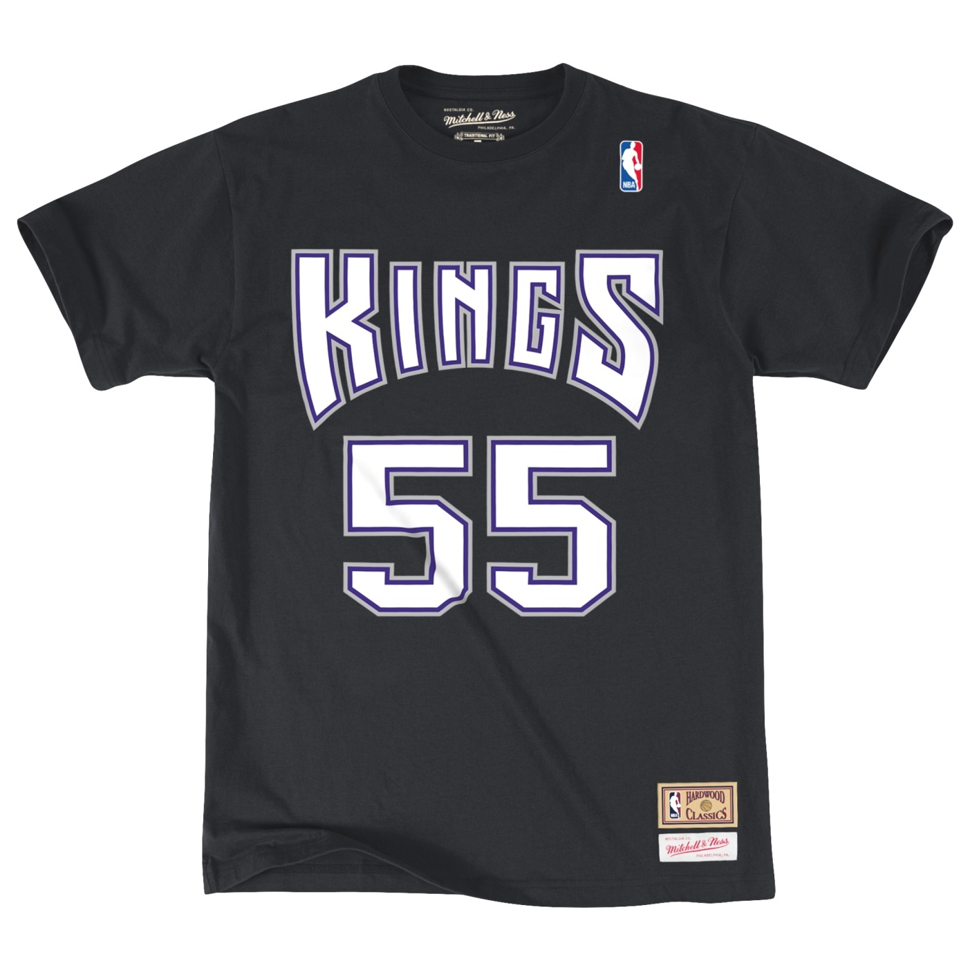 "Jason Williams Sacramento Kings Mitchell & Ness NBA Men's ""Player"" S/S T-Shirt"