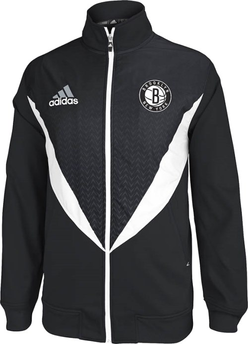 Brooklyn Nets Adidas 2013 NBA Resonate Performance Jacket
