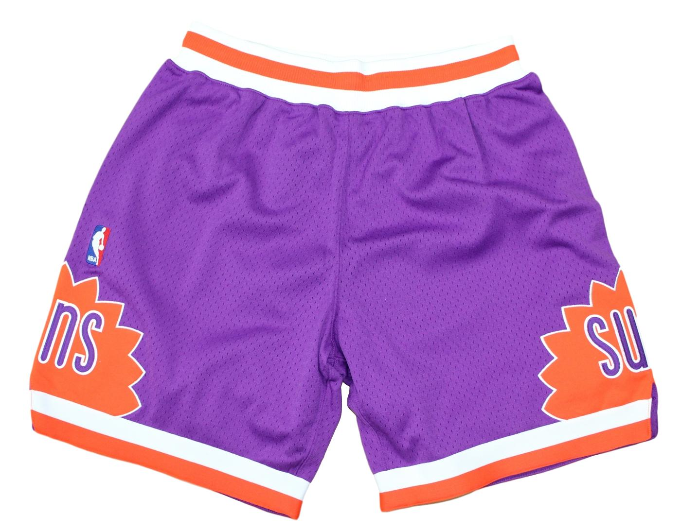 "Phoenix Suns Mitchell & Ness NBA ""Authentic"" Men's Mesh Shorts - 1991 Road"