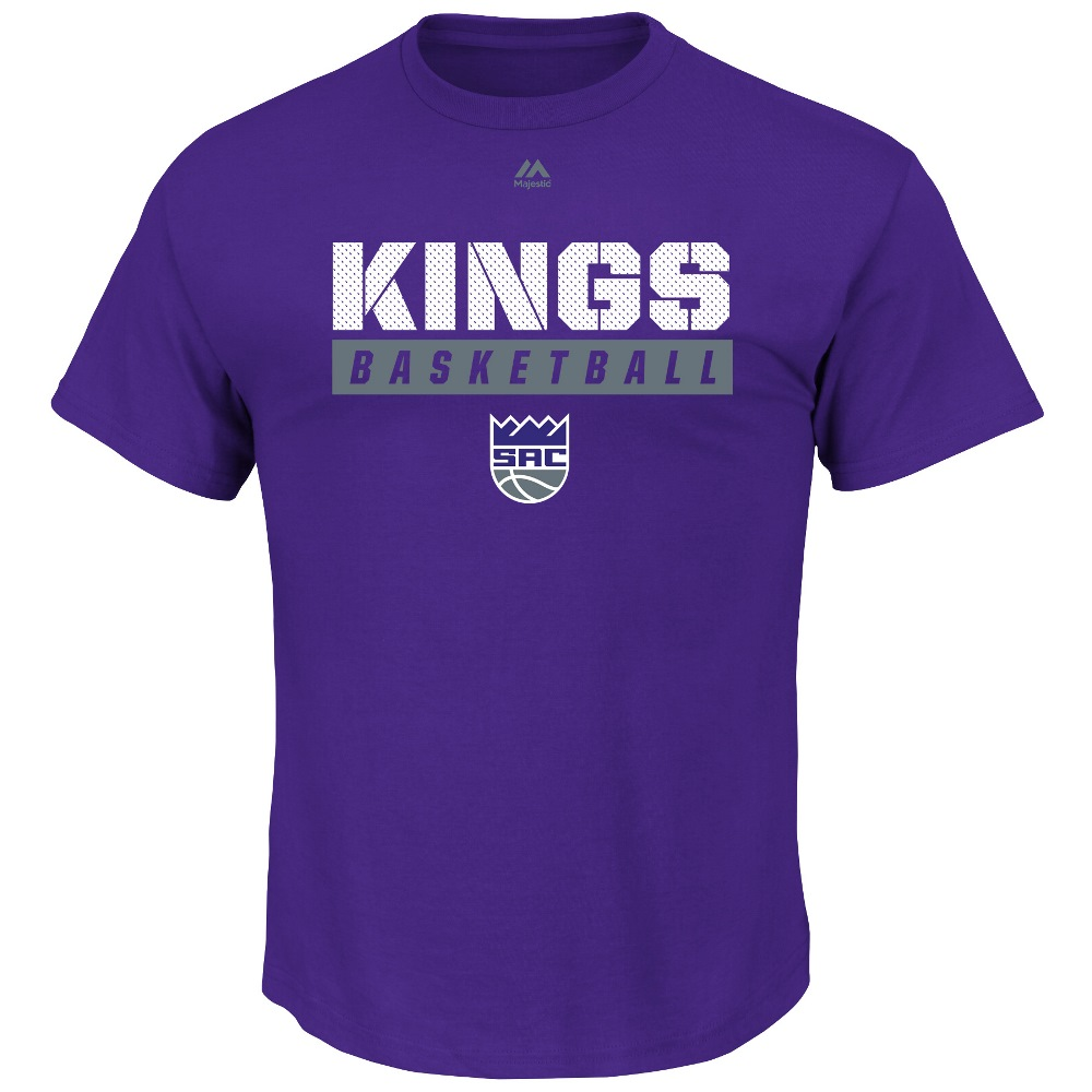 "Sacramento Kings Majestic NBA ""Proven Pastime"" Short Sleeve Men's T-Shirt"