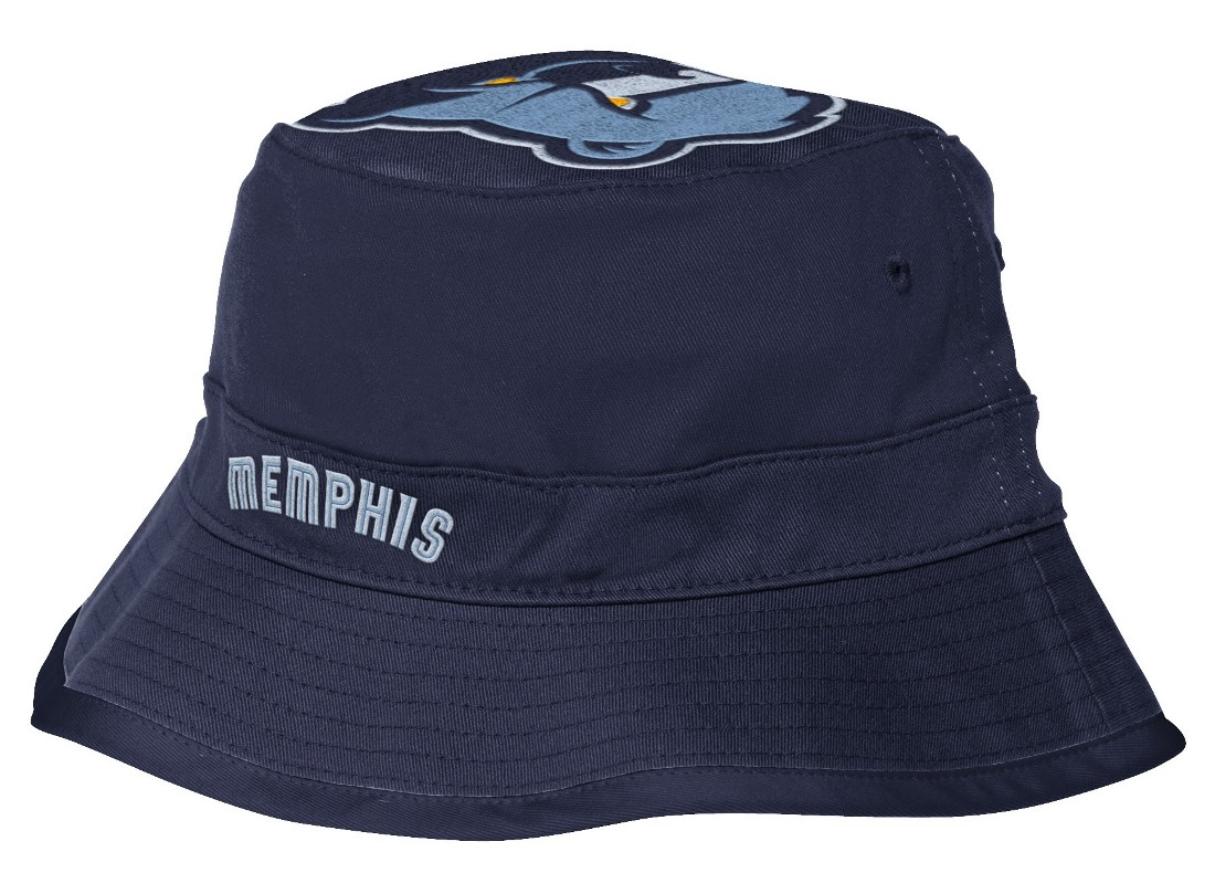 "Memphis Grizzlies Adidas NBA ""Big Top Logo"" Bucket Hat"