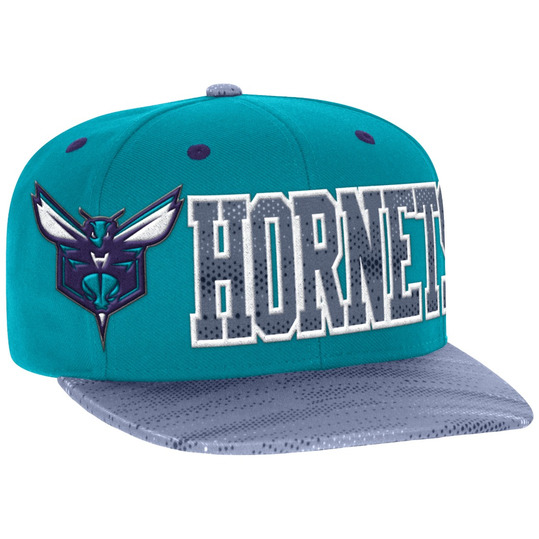 "Charlotte Hornets Adidas NBA ""Surface"" Wool Snap Back Hat"