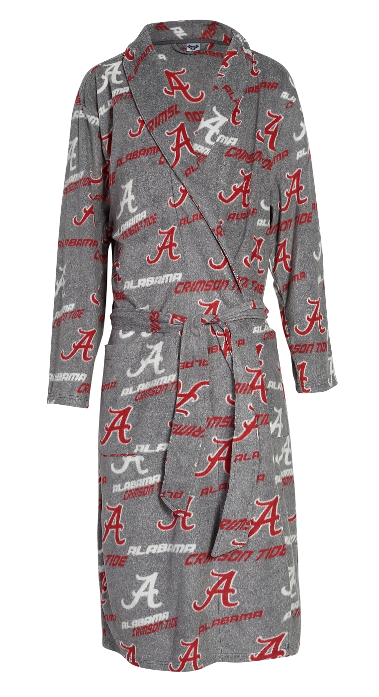 "Alabama Crimson Tide NCAA ""Achievement"" Men's Micro Fleece Robe"
