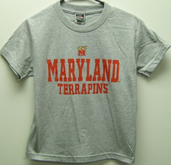 Maryland Terrapins Youth Formation T-Shirt