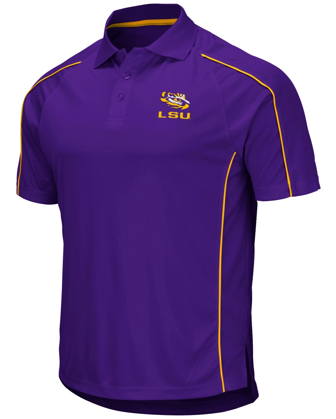 "LSU Tigers NCAA ""Bunker"" Men's Performance Polo Shirt"