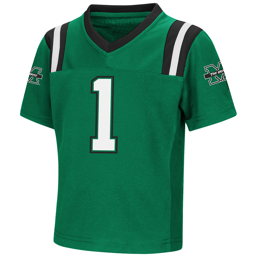 "Marshall Thundering Herd NCAA ""Double Reverse Play "" Toddler Football Jersey"