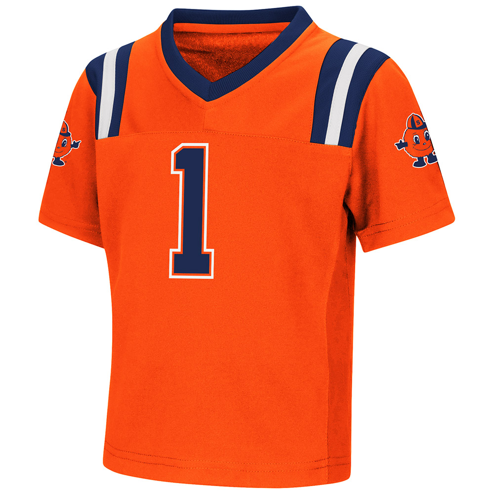 "Syracuse Orange NCAA ""Double Reverse Play "" Youth Football Jersey"