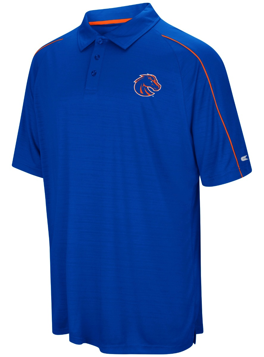 "Boise State Broncos NCAA ""Setter"" Men's Performance Polo Shirt"