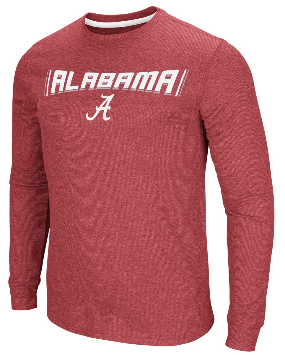 "Alabama Crimson Tide NCAA ""Cake Time"" Men's Long Sleeve T-Shirt"