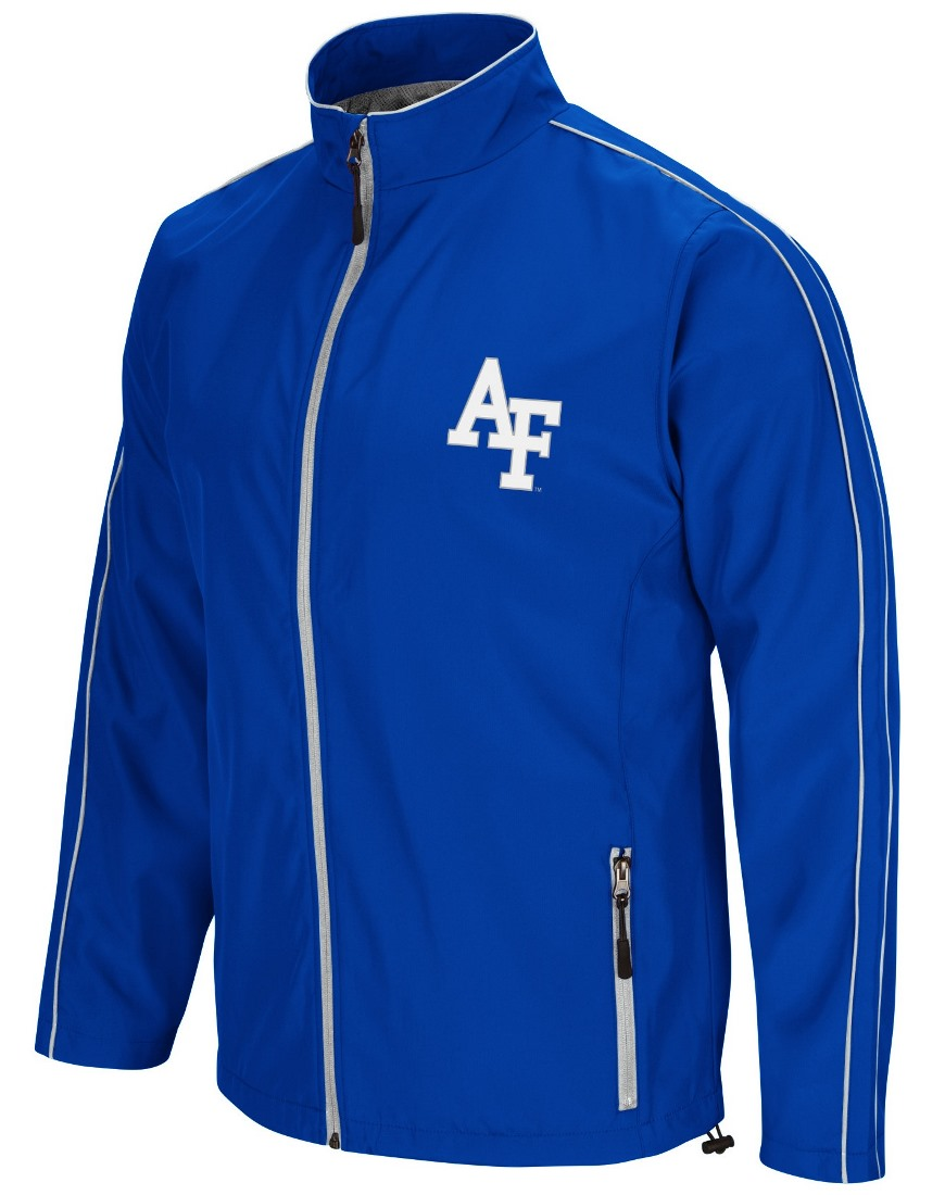 "Air Force Falcons NCAA ""Barrier"" Men's Full Zip Wind Jacket"