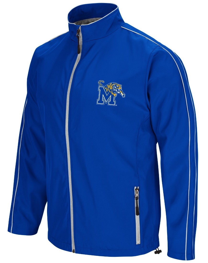 "Memphis Tigers NCAA ""Barrier"" Men's Full Zip Wind Jacket"