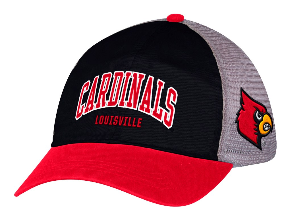 Louisville Cardinals Adidas NCAA Adjustable Slouch Mesh Back Hat
