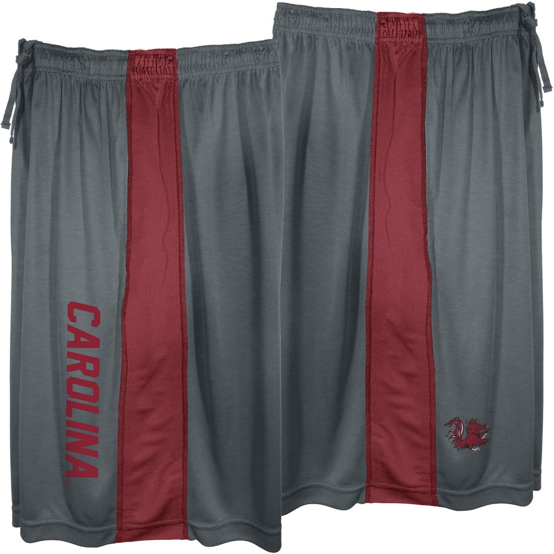 "South Carolina Gamecocks Majestic NCAA ""All Day"" Mens' Performance Shorts - Gray"