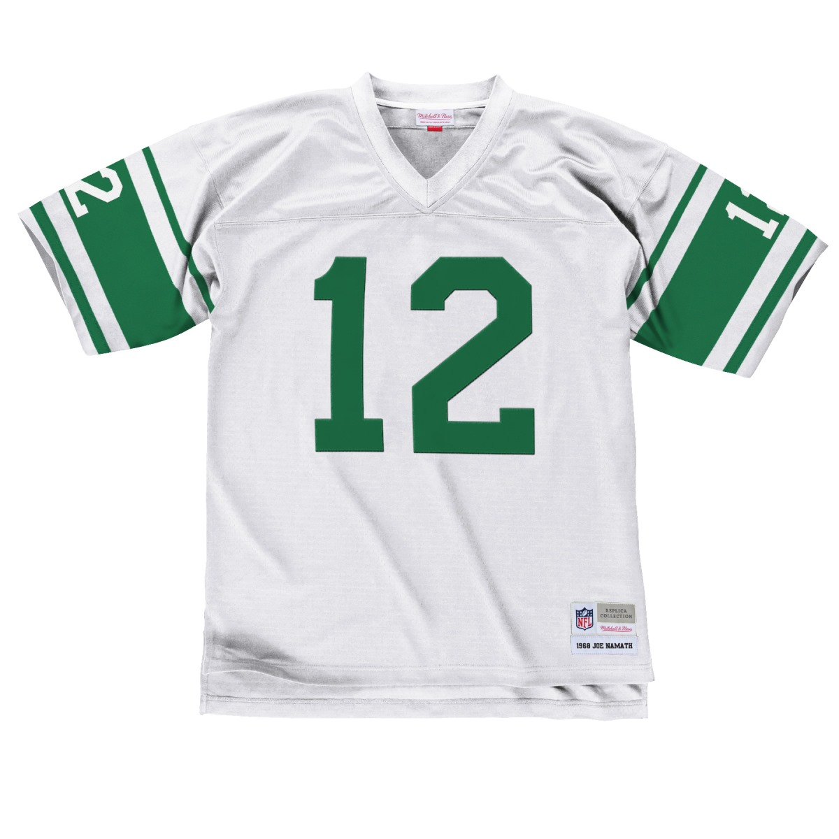 Joe Namath New York Jets Mitchell & Ness NFL Throwback Premier Jersey - White