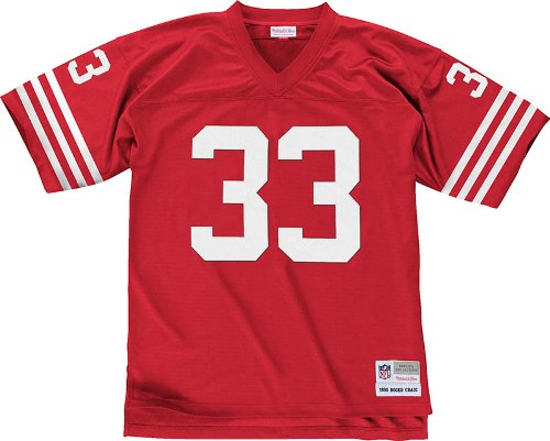 Roger Craig San Francisco 49ers NFL Mitchell & Ness Throwback Premier Red Jersey