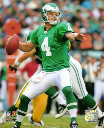 Kevin Kolb Philadelphia Eagles Throwback Action 8x10 Photo