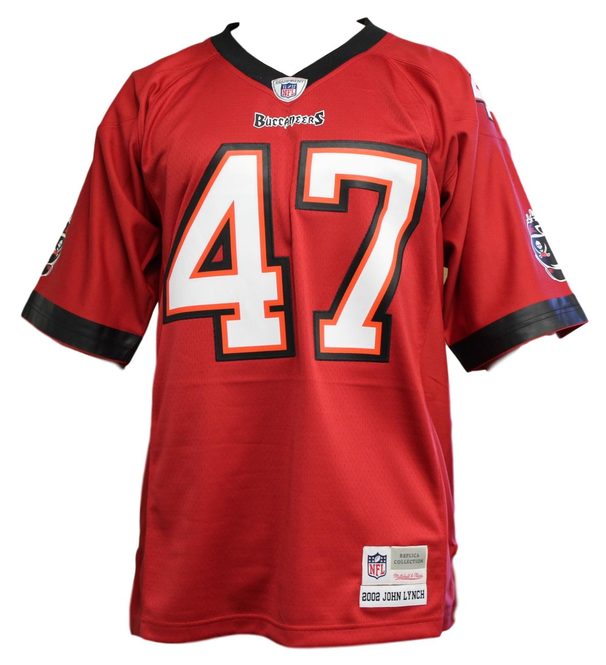 John Lynch Tampa Bay Buccaneers NFL Mitchell & Ness Throwback Premier Jersey