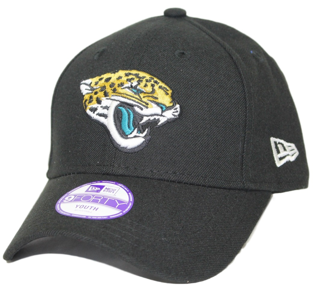 "Jacksonville Jaguars New Era Youth NFL 9Forty ""The League"" Adjustable Hat"