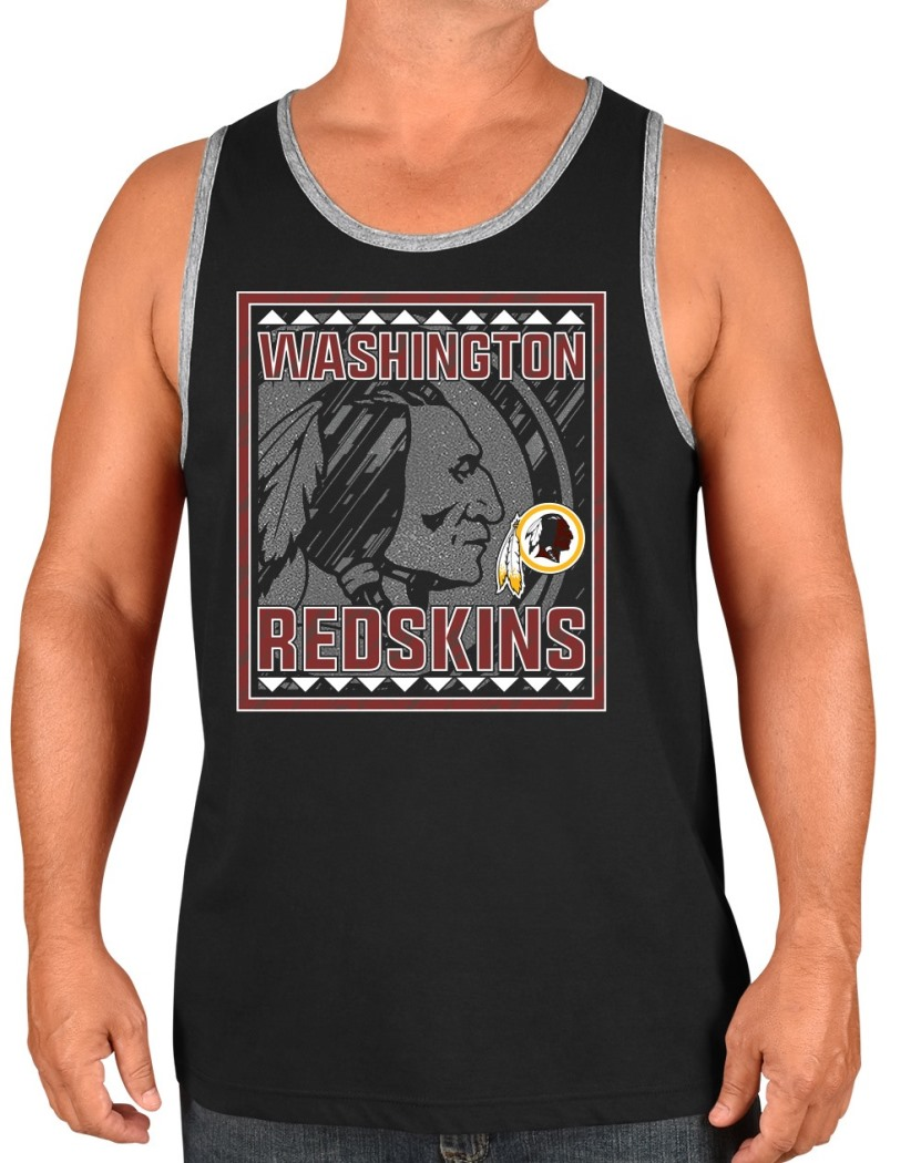 "Washington Redskins Majestic NFL ""Experience"" Men's Sleeveless Tank Top Shirt"