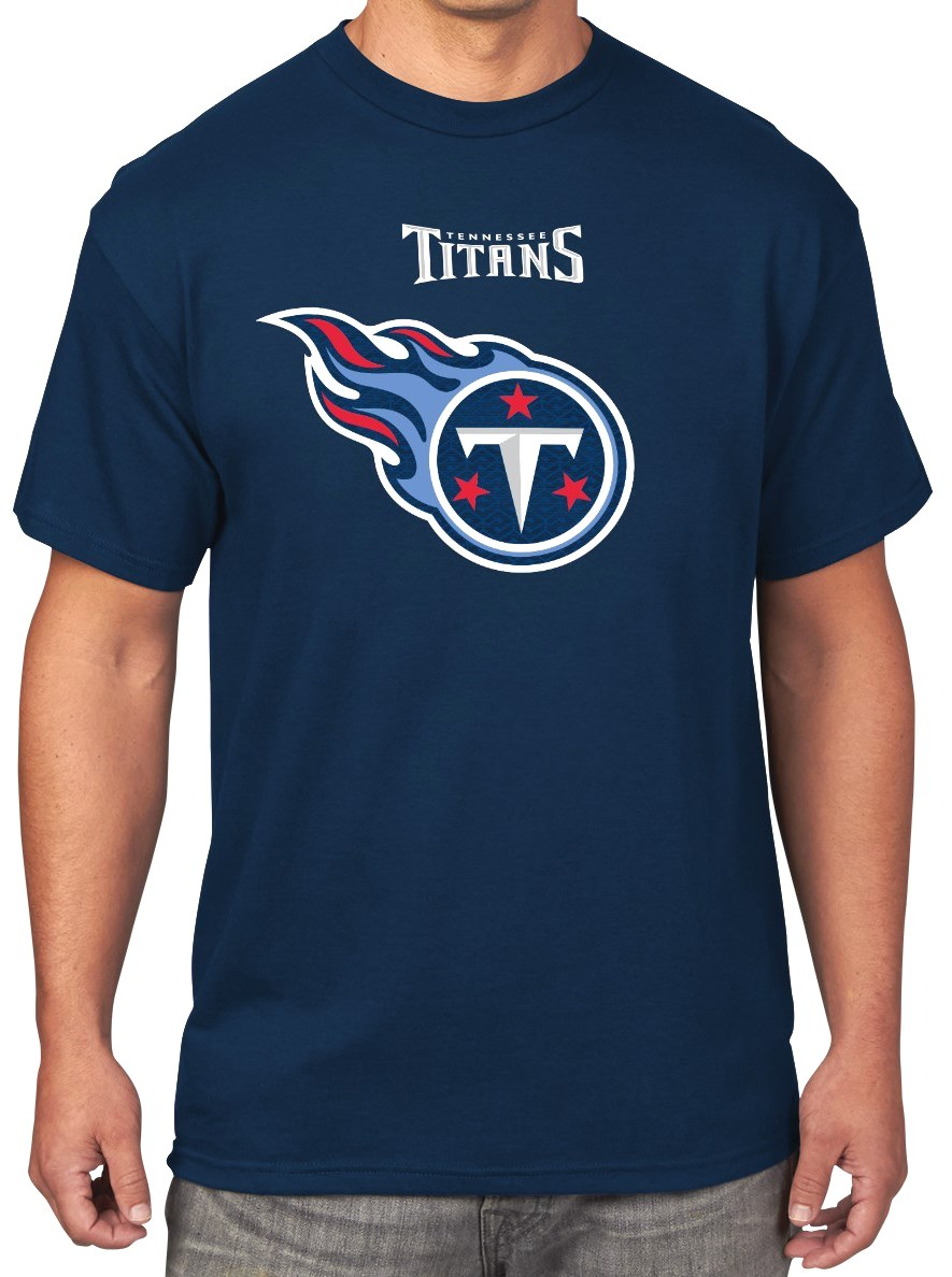 Tennessee Titans Majestic NFL Critical Victory Men's T-Shirt - Navy