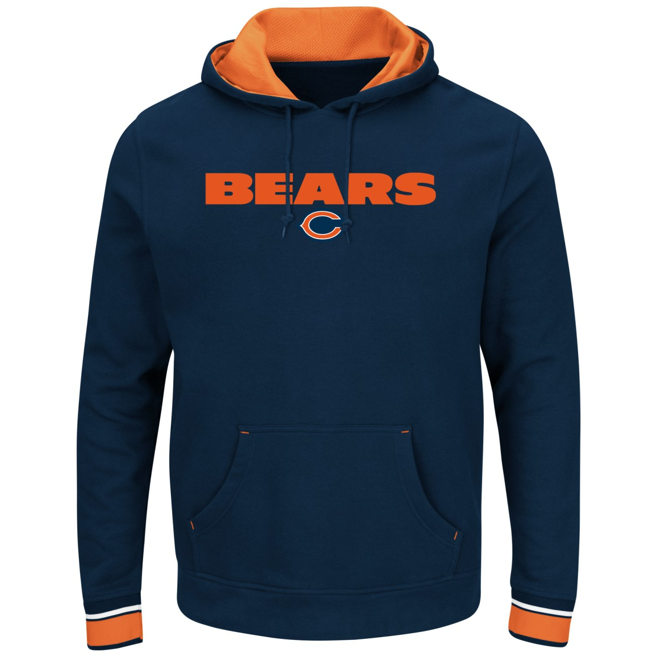 "Chicago Bears Majestic NFL ""Championship"" Men's Pullover Hooded Sweatshirt"