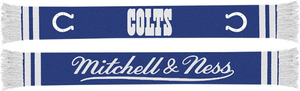 Baltimore Colts Mitchell & Ness NFL Vintage Team Premium Scarf