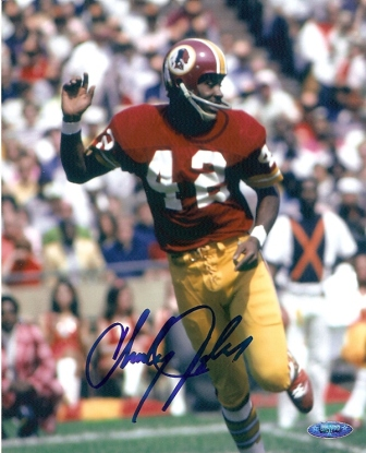 Charley Taylor Signed Washington Redskins 8x10