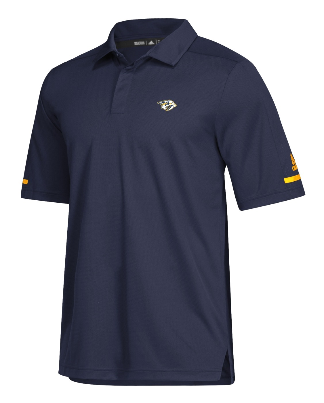 Nashville Predators Adidas NHL Men's 2018 Authentic Game Day Polo Shirt