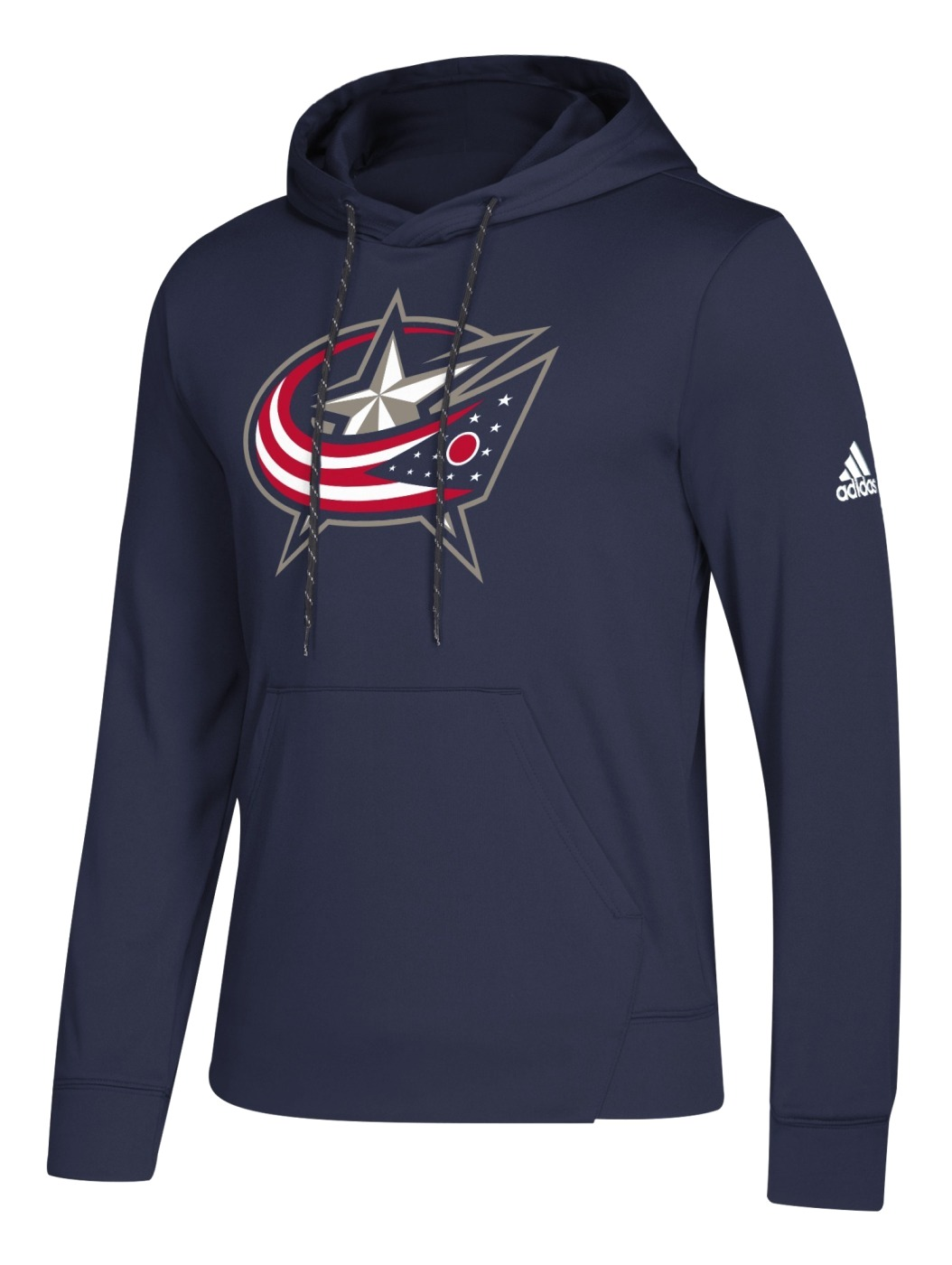 "Columbus Blue Jackets Adidas NHL Men's ""Goalie"" Pullover Hooded Sweatshirt"