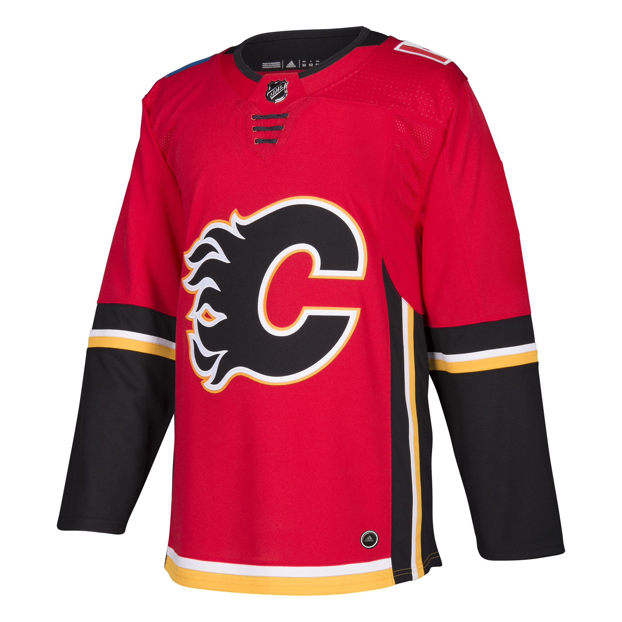 Calgary Flames Adidas NHL Men's Climalite Authentic Team Hockey Jersey