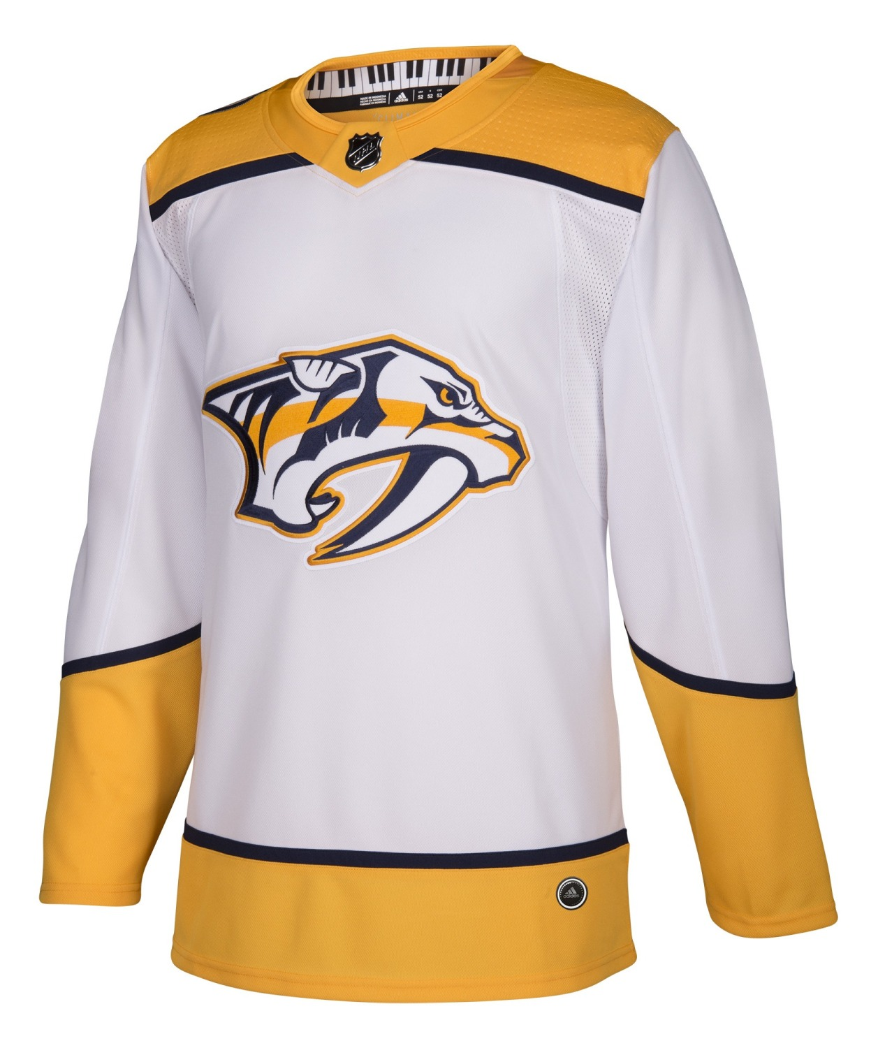 Nashville Predators Adidas NHL Men's Climalite Authentic Away Hockey Jersey