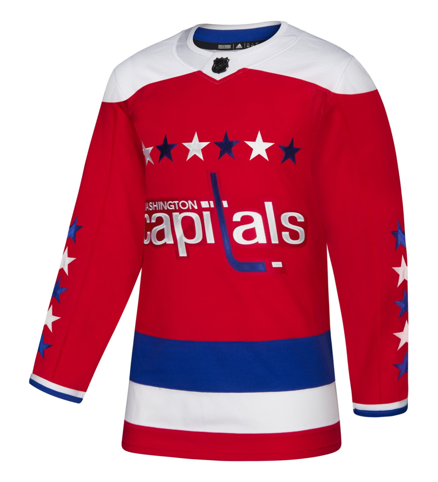 Washington Capitals Adidas NHL Men's Climalite Authentic Alternate Hockey Jersey
