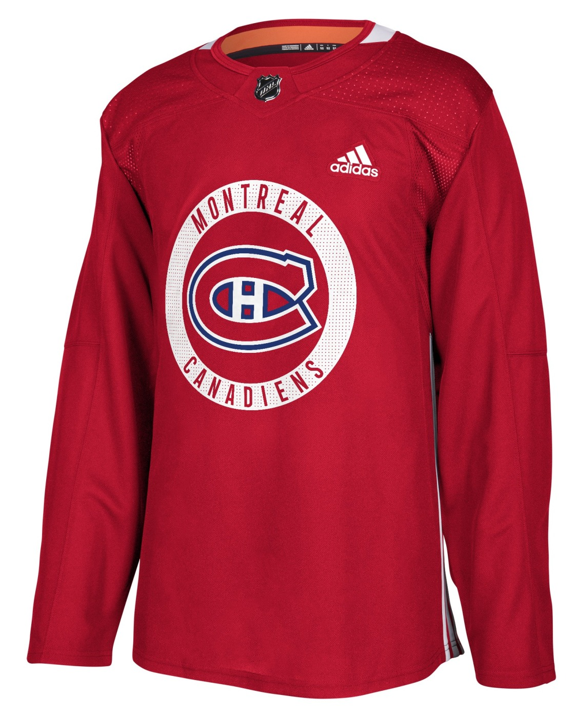 Montreal Canadiens Adidas NHL Men's Climalite Authentic Practice Jersey