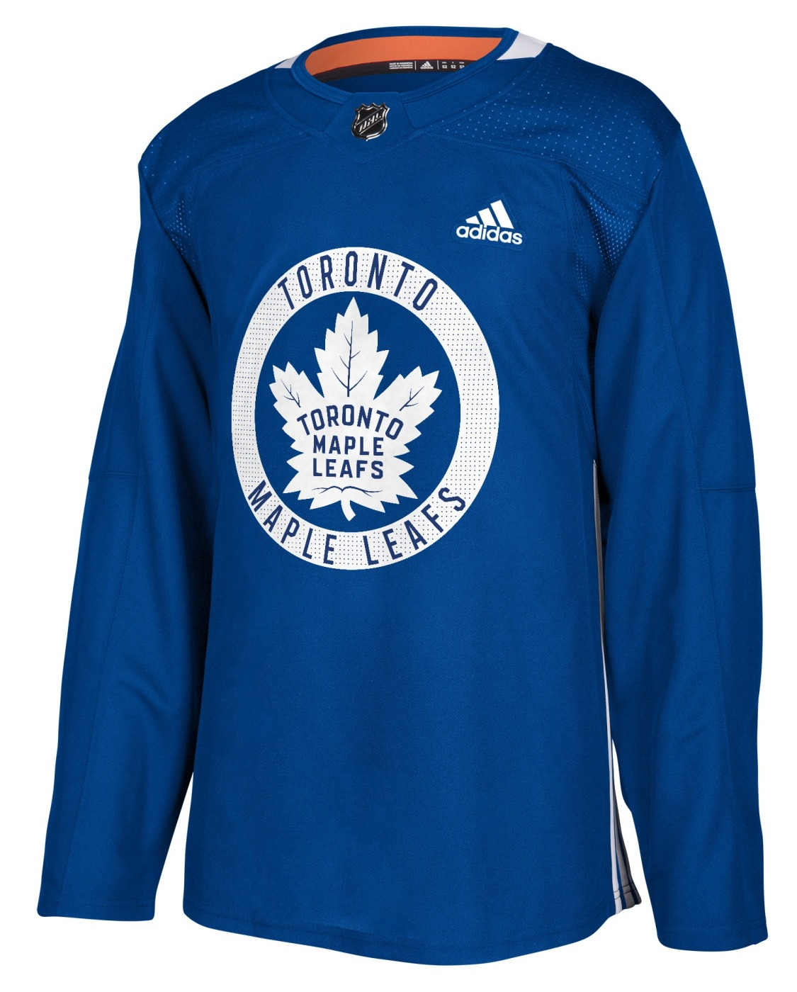Toronto Maple Leafs Adidas NHL Men's Climalite Authentic Practice Jersey