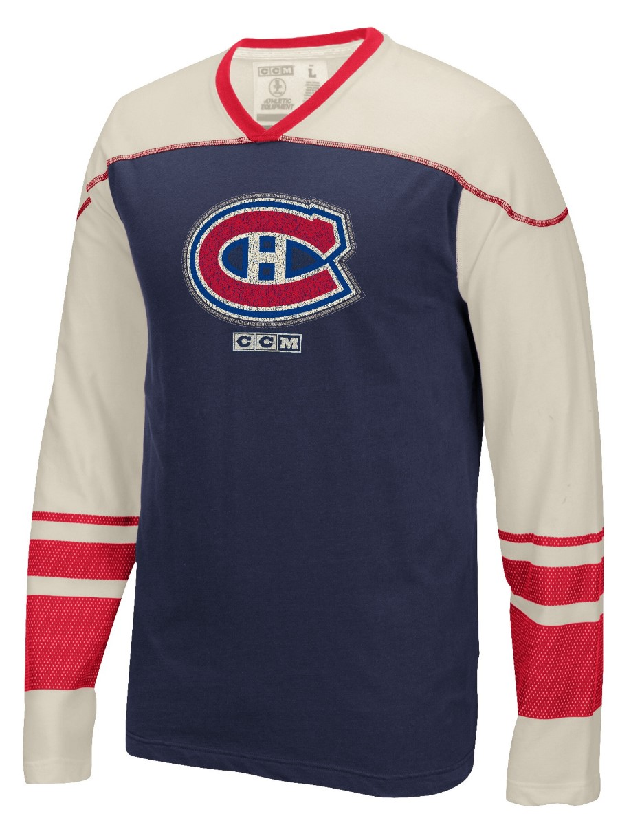 "Montreal Canadiens CCM NHL ""Better Days"" Men's Long Sleeve Crew Shirt"
